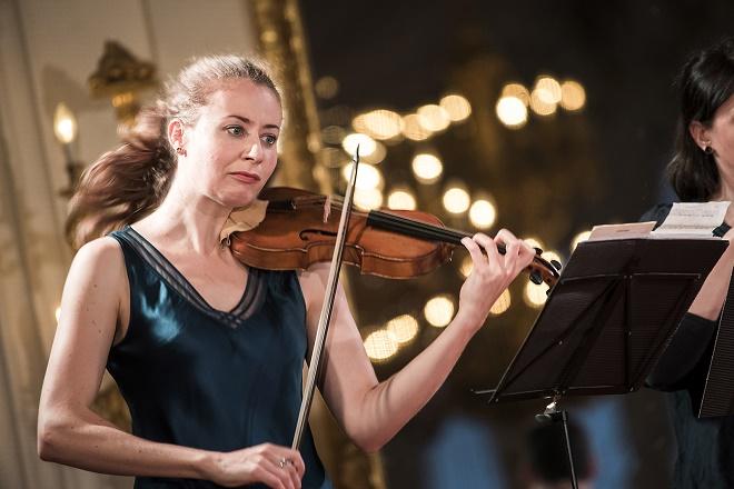 La favorita - Cecilia Bernardini - Letní slavnosti staré hudby 2016 (foto Petra Hajská)