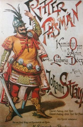 Johann Strauss: Ritter Pázmán (foto archiv autorky)