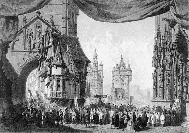 F.Halévy: La Juive - Paříž 1835 (foto archiv)