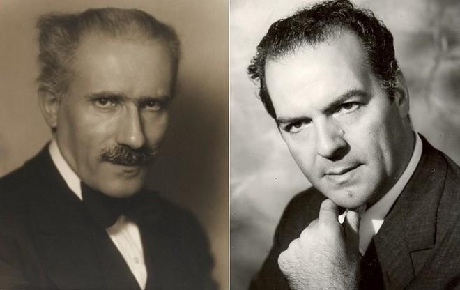 Arturo Toscanini (foto Vincenzo Laviosa) a Paolo Silveri (zdroj operanostalgia.be)