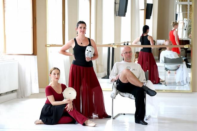 Blanka Ferjentsik Wernerová, Michaela Bartlová, Václav Janeček (foto archiv Musica Florea)