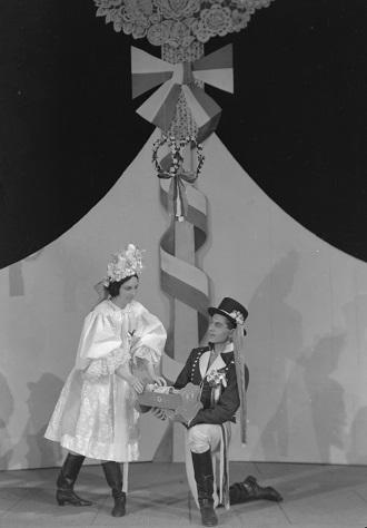 K. Bendl: Česká svatba - ND Brno 1939 (foto ateliér Skácel)