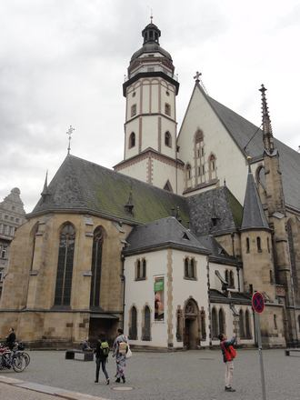 Kostel sv. Tomáše v Lipsku (foto jaroslav Tůma)
