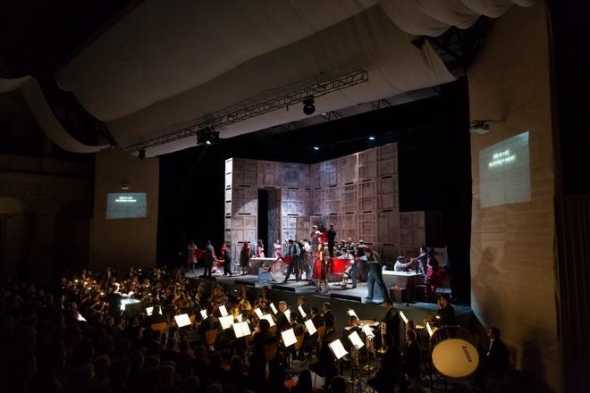 Georges Bizet: Carmen - Smetanova Litomyšl 2016 (foto František Renza)