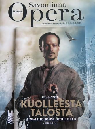 Leoš Janáček: Kuolleesta talosta (Z mrtvého domu) - libreto k inscenaci Savonlinnan Oopperajuhlat 2016 (zdroj archiv Aleše Brisceina)