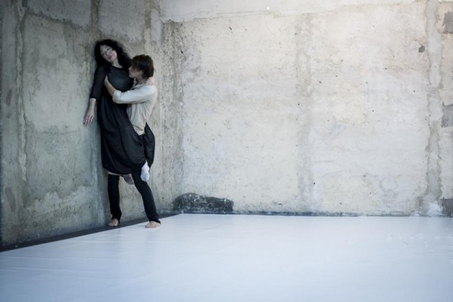 Lessons of Touch - Nina Vangeli a Radim Vizváry (zdroj FB Nultý bod 2016)