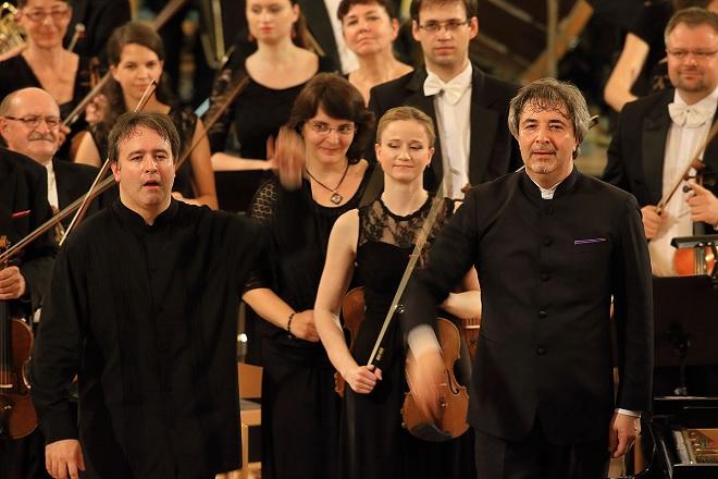 Alexei Volodin, Daniel Raiskin, Plzeňská filharmonie - MHF Český Krumlov 2016 (foto Libor Sváček)