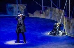 Richard Wagner: Tannhäuser und der Sängerkrieg auf Wartburg - Armin Kolarczyk (Wolfram von Eschenbach), Josefine Weber (Elisabeth) - Tiroler Landestheater 2016 (foto © Rupert Larl/Tiroler Landestheater)