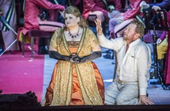 Richard Wagner: Tannhäuser und der Sängerkrieg auf Wartburg - Josefine Weber (Elisabeth), Daniel Kirch (Tannhäuser) - Tiroler Landestheater 2016 (foto © Rupert Larl /Tiroler Landestheater)