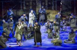 Richard Wagner: Tannhäuser und der Sängerkrieg auf Wartburg - Sophie Mitterhuber (Ein junger Hirt), Daniel Kirch (Tannhäuser) - Tiroler Landestheater 2016 (foto © Rupert Larl/Tiroler Landestheater)
