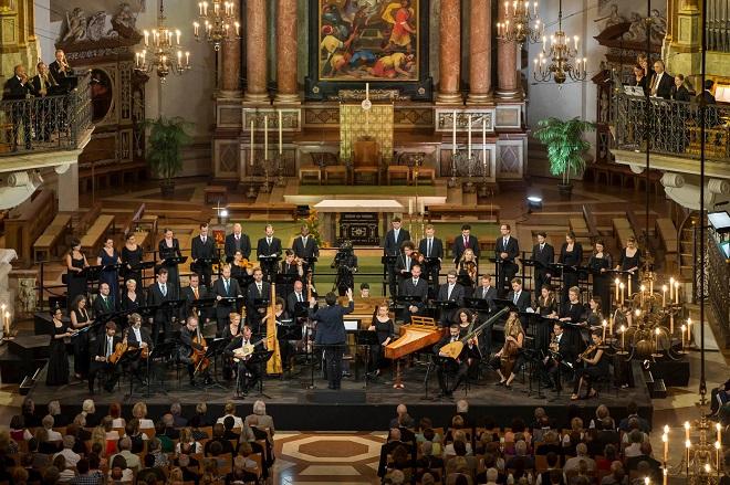 F. Biber: Missa Salisburgensis - Collegium 1704, Collegium Vocale 1704 - Salzburger Festspiele 2016 (foto Andreas Kolarik)