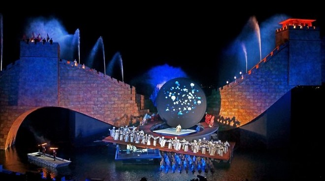 Giacomo Puccini: Turandot - Bregenzer Festspiele 2015 (foto Bregenzer Festspiele/Karl Forster)