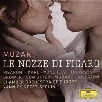 Wolfgang Amadeus Mozart: Figarova svatba - Deutsche Grammophon 2016 (přebal) (zdroj Deutsche Grammophon)