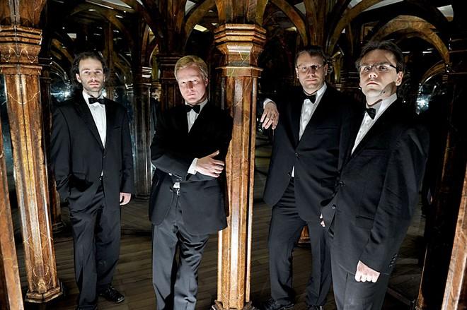Zemlinského kvarteto (zdroj setkanishudbou.cz)