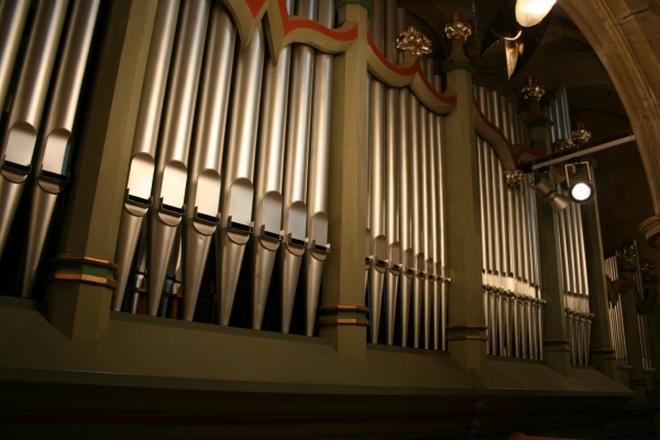 Katedrála sv. Víta - Mölzerovy varhany (foto archiv)