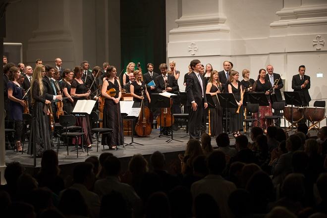 Collegium 1704, Collegium Vocale 1704, Václav Luks - Salzburger Festspiele 2015 (foto @ neumayr.cc)