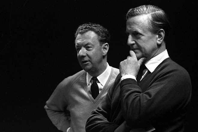 Benjamin Britten a Peter Pears (foto archiv)