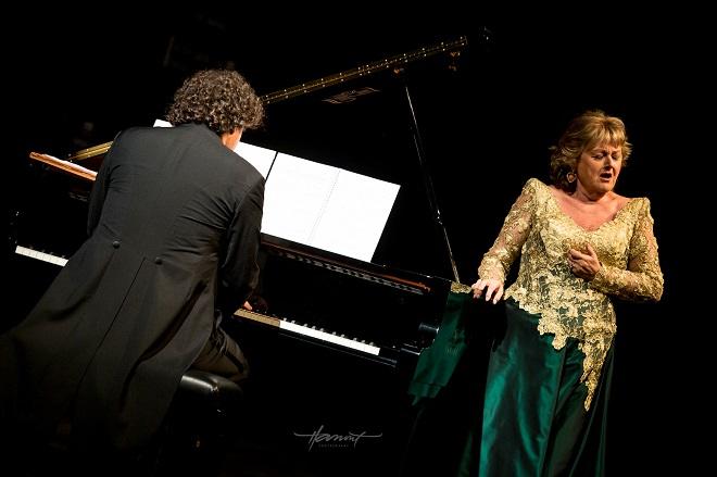 Edita Gruberová recitál - Peter Valentovič, Edita Gruberová - Viva Musica! 2016 Bratislava (foto Zdenko Hanout)