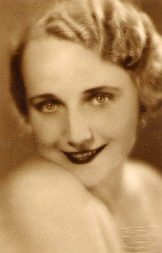 Štěpánka Jelínková 1936 (foto Ströminger Praha)