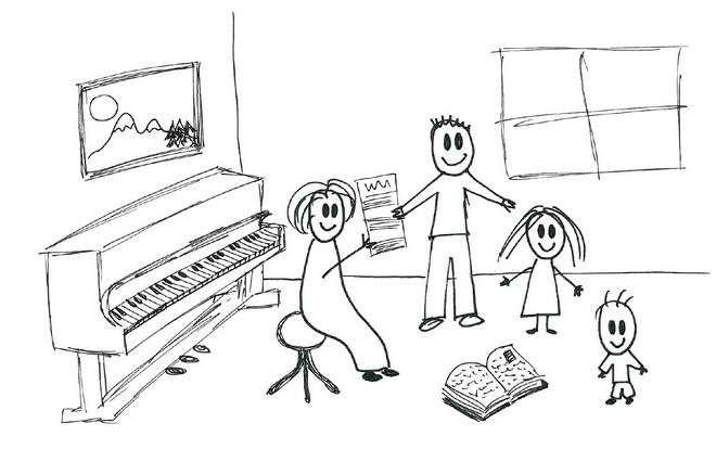 ilustrační kresba Ilona Ratajová