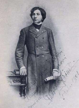 Mladý Rudolf Friml (foto archiv autorky)