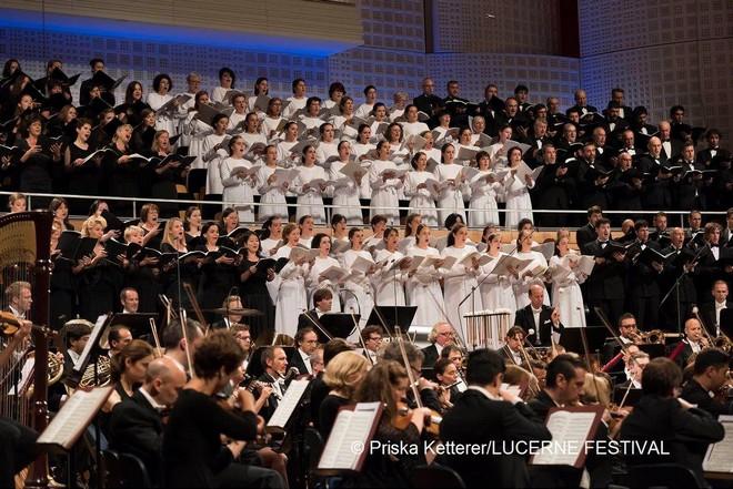 Zahajovací koncert Lucerne Festival 2016 - Concert Hall KKL Lucern 2016 (foto © Priska Ketterer/Lucerne Festival)