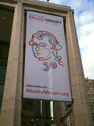 Lincoln Center New York . Mostly Mozart (foto FB)