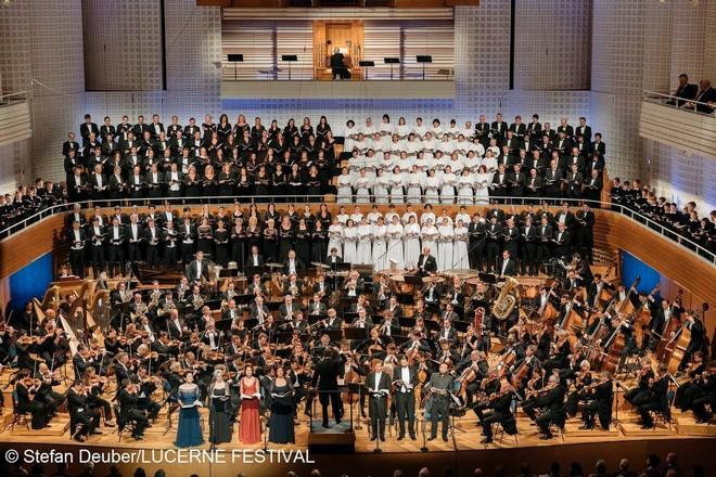Zahajovací koncert Lucerne Festival 2016 - Concert Hall KKL Lucern 2016 (foto © Stefan Deuber/Lucerne Festival)
