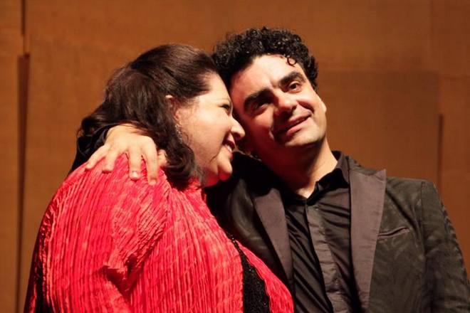 Liederabend - Carrie-Ann Matheson, Rolando Villazón - Salzburger Festspiele 2016 (foto FB Villazonistas/Anne Fischer-Boertzler)