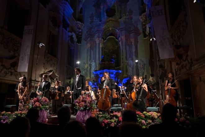Litoměřické svátky hudby 2016 - Jezuitský kostel Zvěstování Panny Marie Litoměřice 2016 (foto FB S. H. Šaturové/Jan Houda)