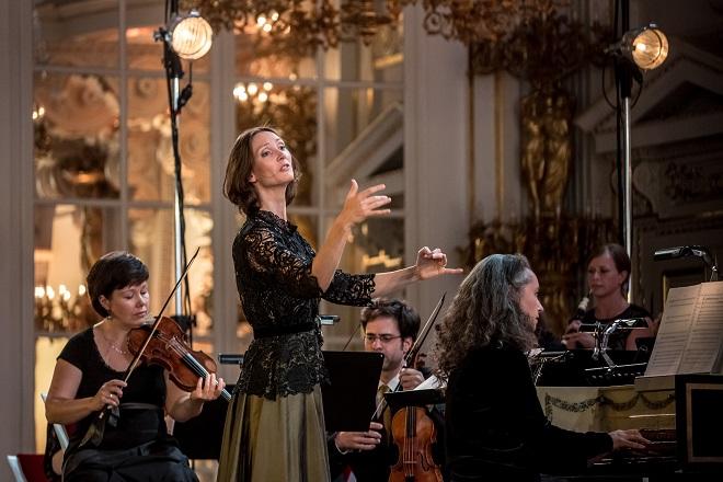 A.Campra: Le carnaval de Venise - Jana Semerádová, Collegium Marianum - Letní slavnosti staré hudby 2016 (foto Martin Divíšek)