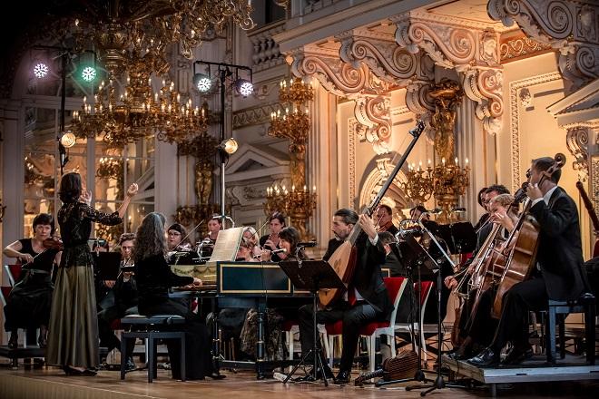 A.Campra: La carnaval de Venise - Jana Semerádová, Collegium Marianum - Letní slavnosti staré hudby 2016 (foto Martin Divíšek)
