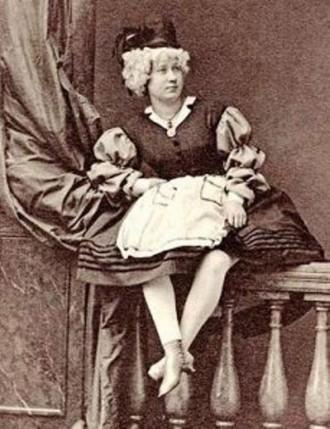 Amélie Marguerite Badel, zvaná Rigolboche (foto archiv autorky)