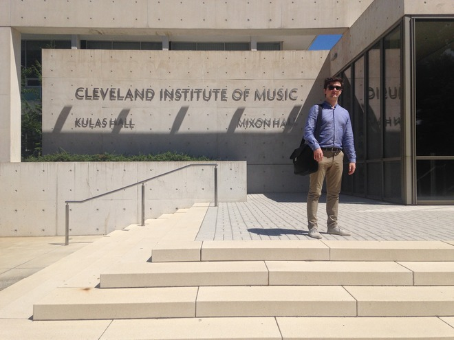 Cleveland Institute of Music (foto archiv autora)