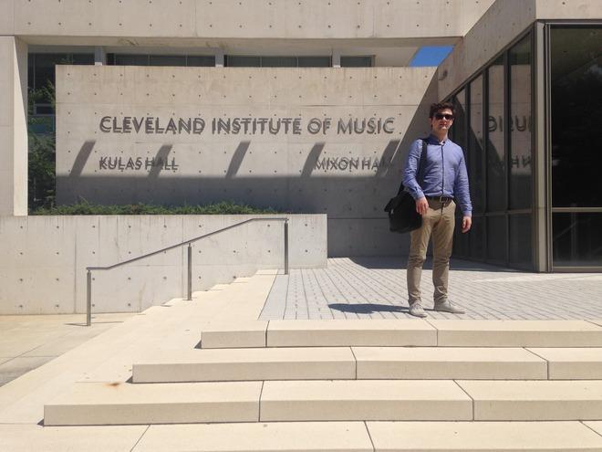 Cleveland Institute of Music (foto archiv autora)