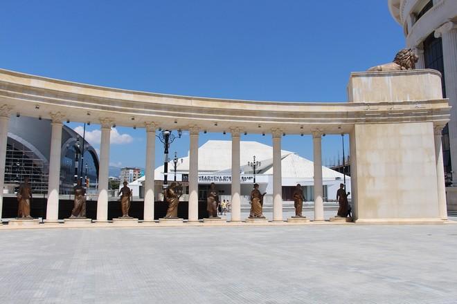 Makedonska Opera i Balet Skopje (foto autor)