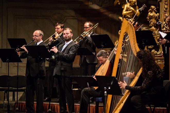 San Marco - Capella Ornamentata - Letní slavnosti staré hudby 2016 (foto Jiří Chlumský)