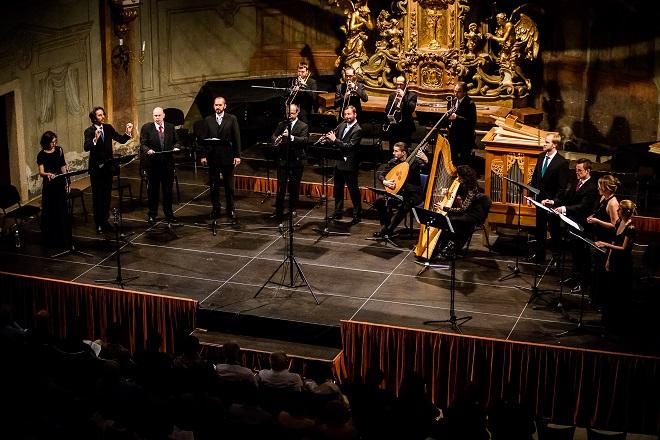 San Marco - Cappella Mariana, Capella Ornamentata - Letní slavnosti staré hudby 2016 (foto Jiří Chlumský)