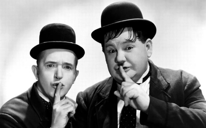 Laurel a Hardy (foto telegraph.co.uk)