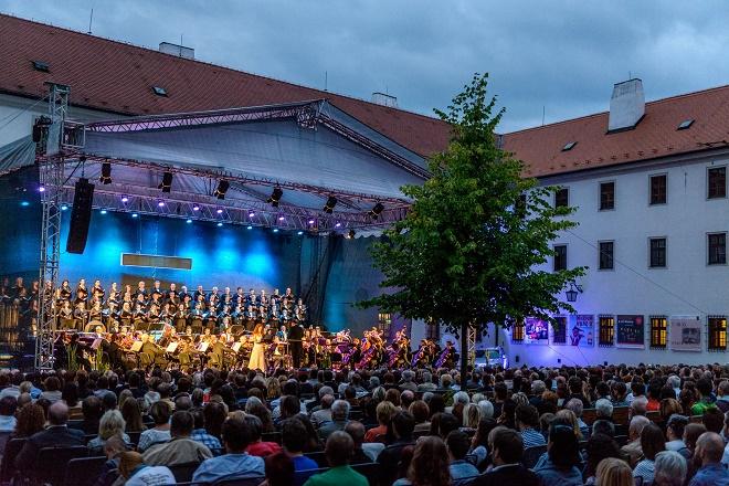 Mezinárodní hudební festival Špilberk 2016 - zahájení (foto FB/ Jiří Jelínek)