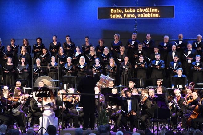 17. Mezinárodní hudební festival Špilberk 2016 - zahajovací koncert 16.8.2016 (foto ČTK/Václav Šálek)