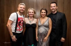 Adriana Kučerová, Jana Kurucová, Pavol Breslik a Štefan Kocán společně v Bratislavě