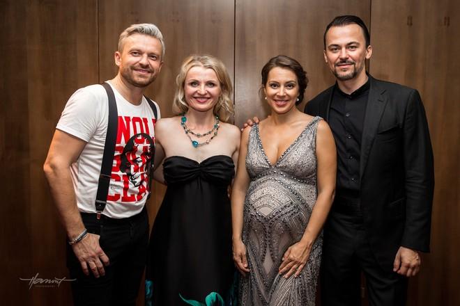 Pavol Bršlík, Jana Kurucová, Adriana Kučerová a Štefan Kocán (foto Zdenko Hanout)
