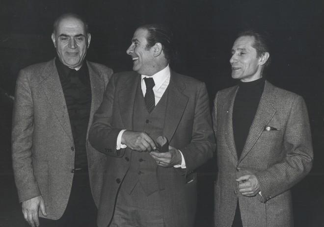 Simon Virsaladze, Guido Lauri a Yuri Grigorovich (zdroj it.wikipedia.org)