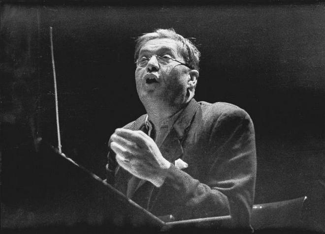 Václav Talich (foto Zdeněk Tmej)