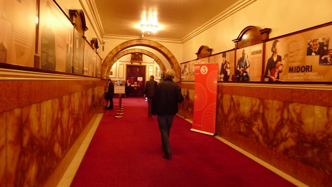 Vstupní hala ve Wigmore Hall (foto vanclassicalmusic.com)
