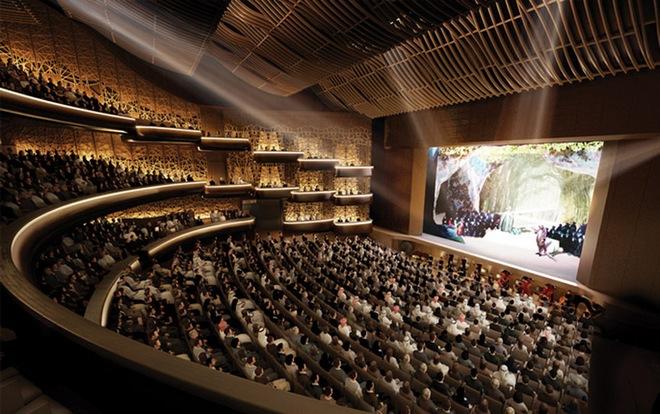 Dubai Opera - (zdroj designboom.com)