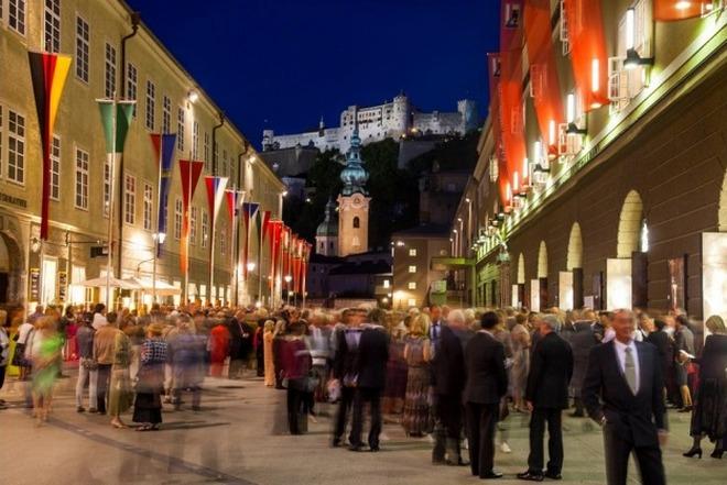 Salzburger Festspiele (foto Salzburg Tourismus)
