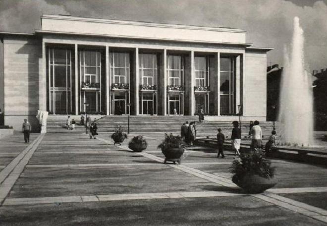 Janáčkovo divadlo Brno - 1966 (zdroj fotohistorie.cz)