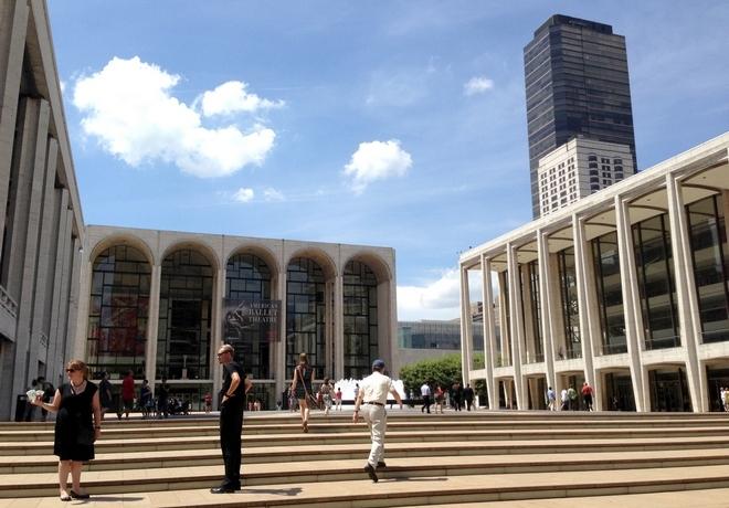 Lincoln Center New York (foto archiv)
